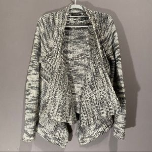 Ann Taylor waterfall knit sweater size M